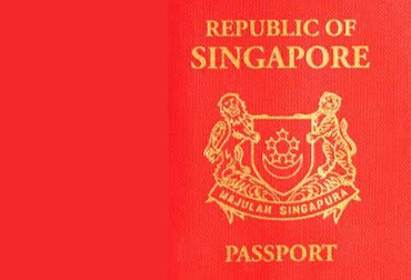 The power of Singaporean passports